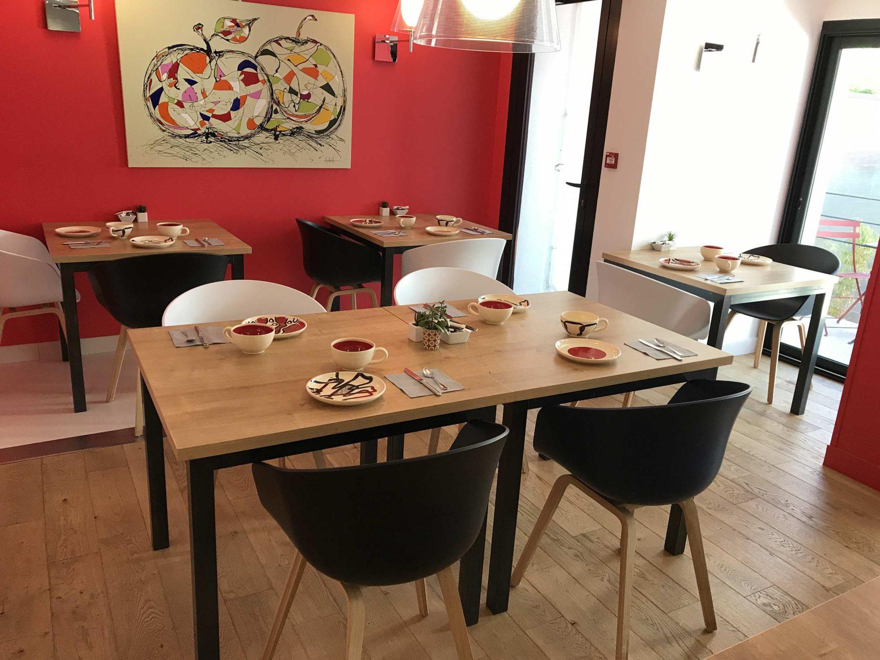salle petit-dejeuner