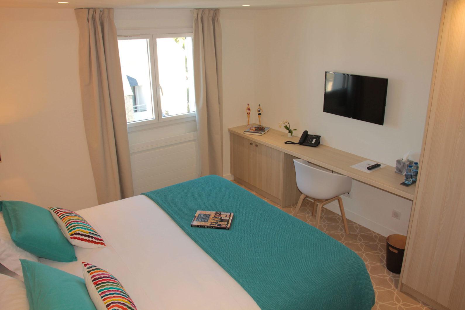 Le Cornouaille hotel chambre standard